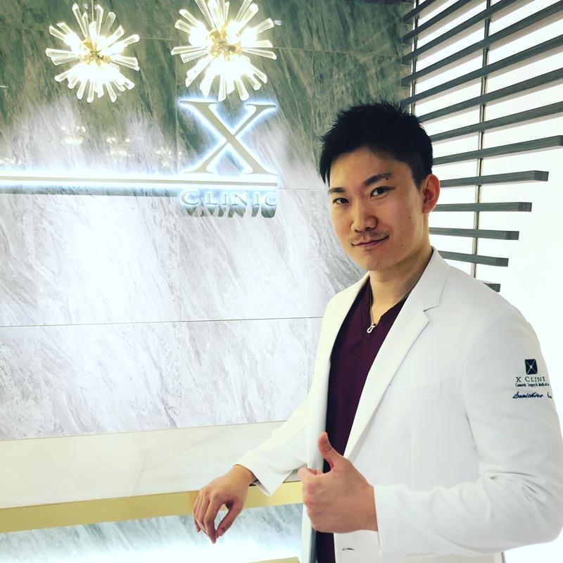 X Clinic 院長 孫 駿一郎